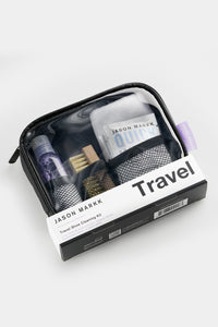 Travel kit in stand up packaging