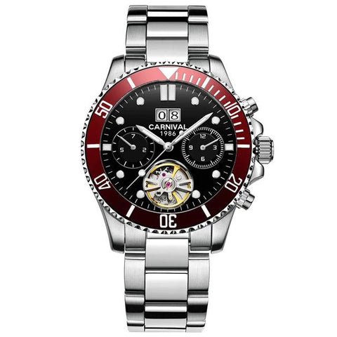 CARNIVAL Tourbillon Mechanical Men Watch