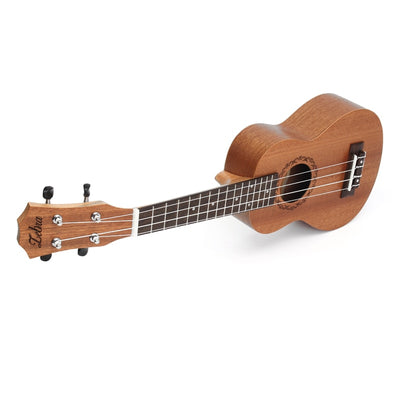 Mahogany Soprano Ukulele Guitar For Beginners