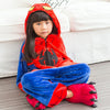 SPIDERMAN Pajama Kids Spider Cosplay Costume