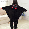Bat Pajama Kids Animal Cosplay Costume