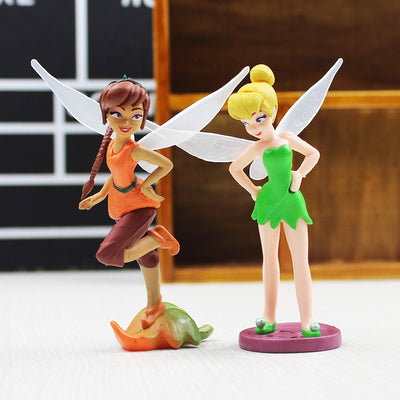 Tinker Bell Fairies Action Figures 7Pcs/lot