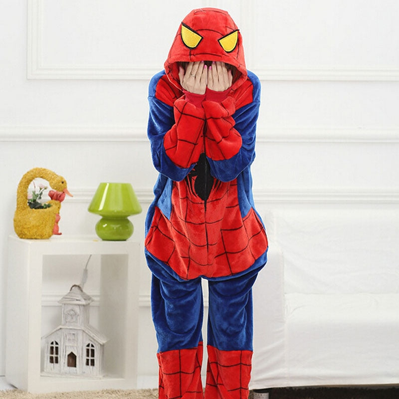 Spiderman Pajama Female