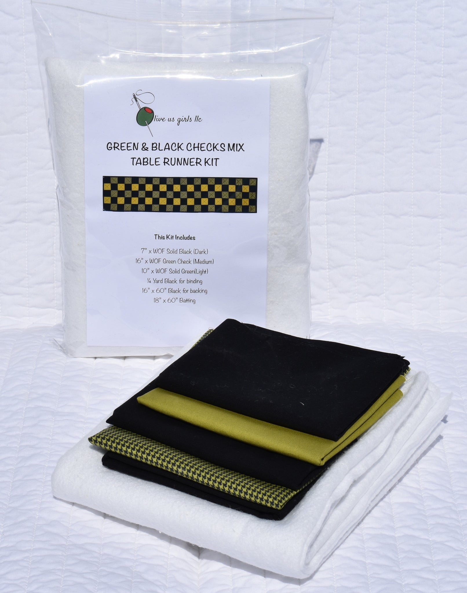 Buffalo Checks Mix Table Runner Kit