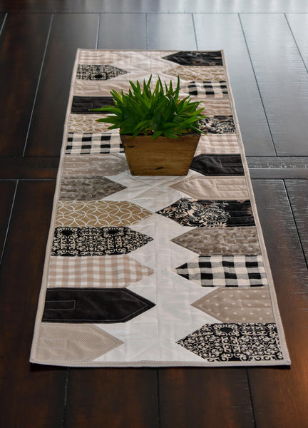 At Home Table Runner Pattern