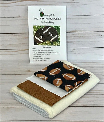 Football Pot Holder Kit