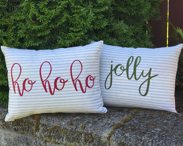 Only Santa Knows! Pillow Pattern