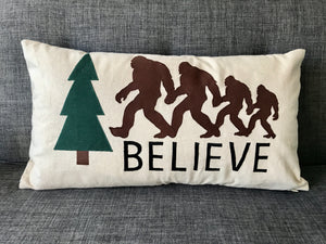 Bigfoot Family Pillow Pattern