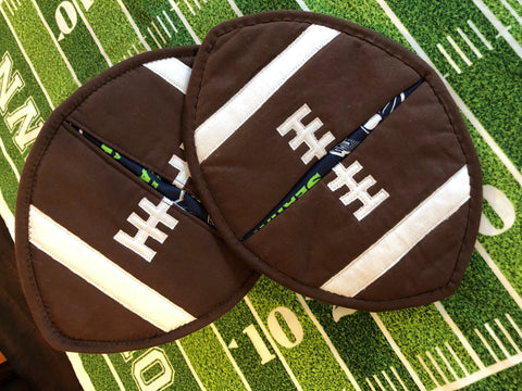 Football Pot Holder Pattern