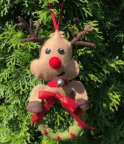 Olive the Other Reindeer Ornament Pattern
