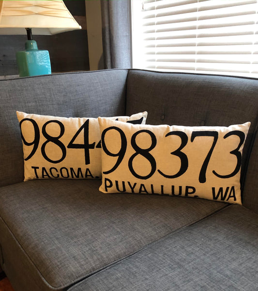 Zip Code Pillow Kit