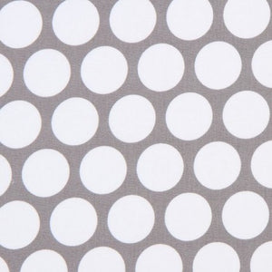 Spot On Grey Dot Fabric