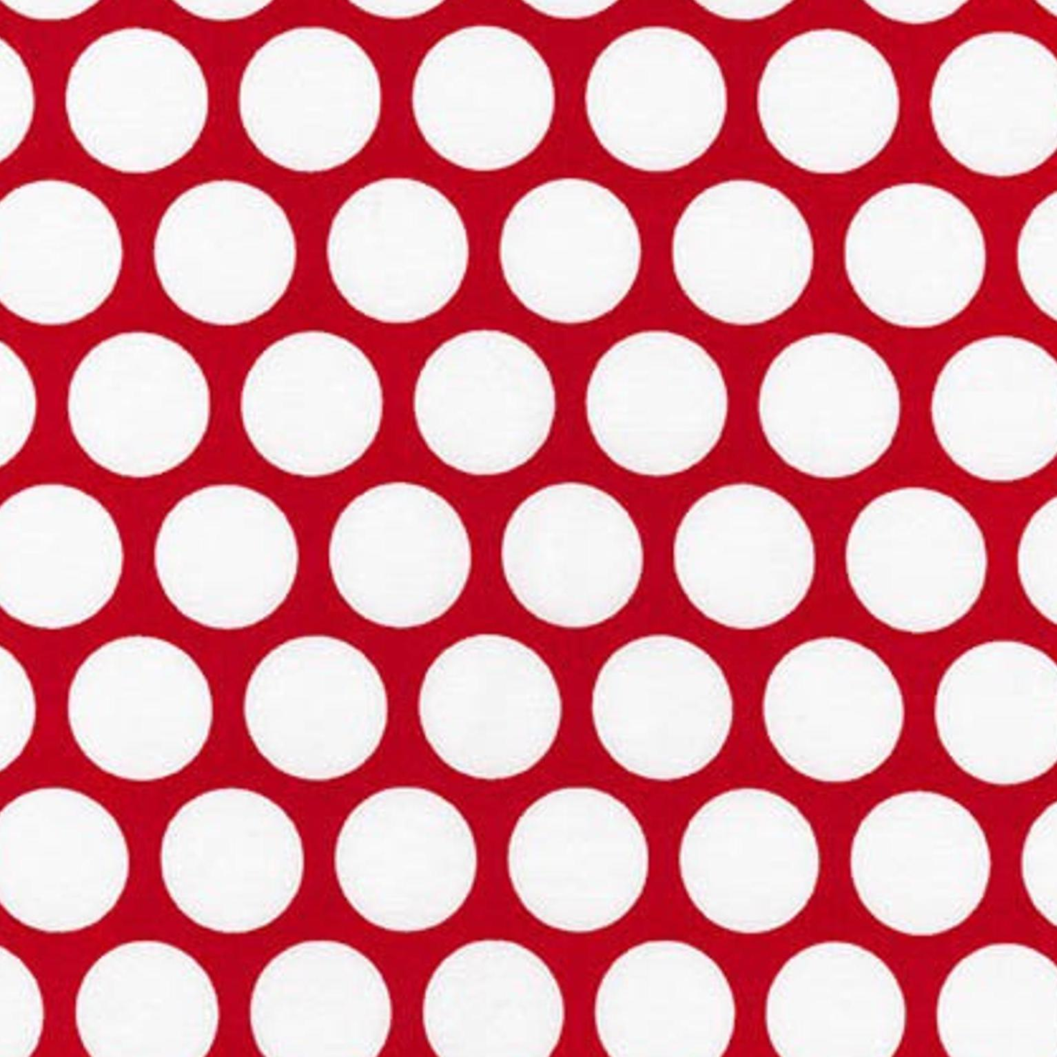 Spot On Red Dot Fabric