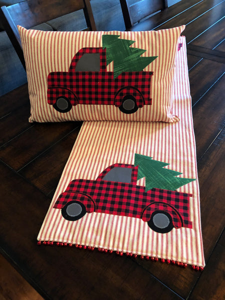Trucking Through The Holidays Pattern