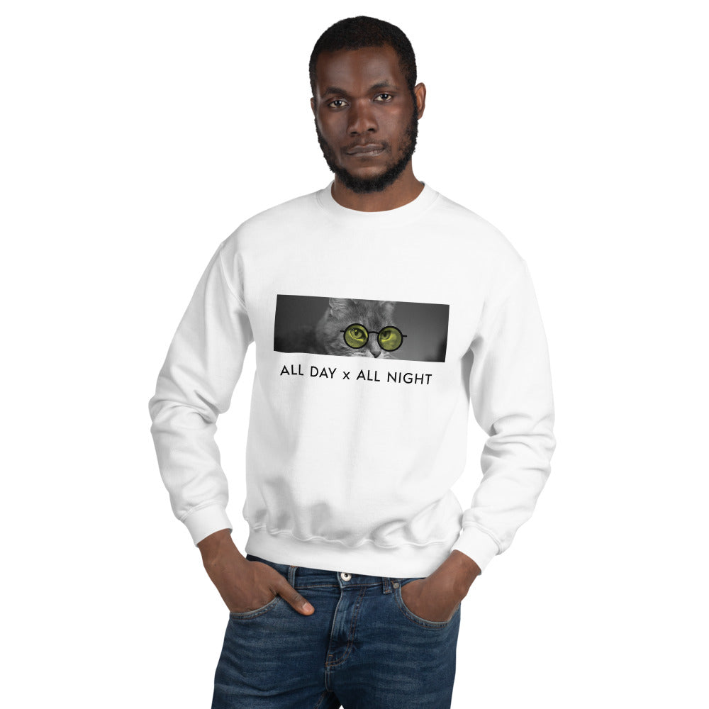Cool Cat Crew Neck Sweater - Tints Eyewear