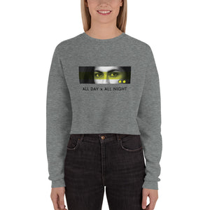 These Eyes Crop Sweatshirt - Tints Eyewear
