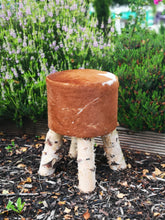 Load image into Gallery viewer, Cowhide Nature Stools