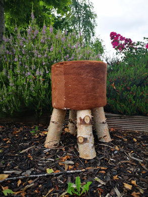 Cowhide Nature Stools