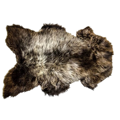 Irish Sheepskin Rug - Rare Breed