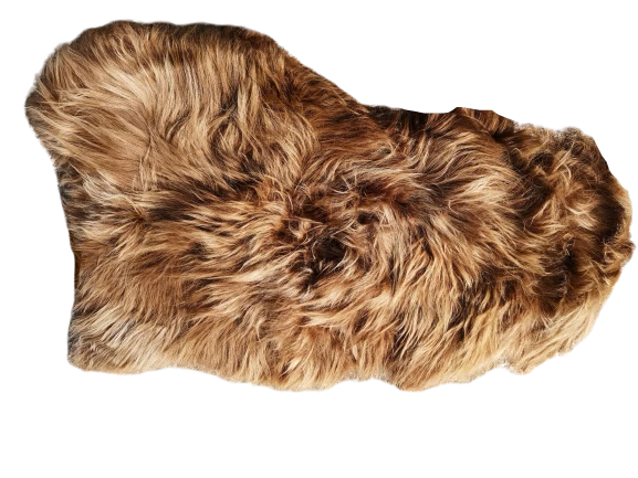 Irish Sheepskin Rug - Winter Brown