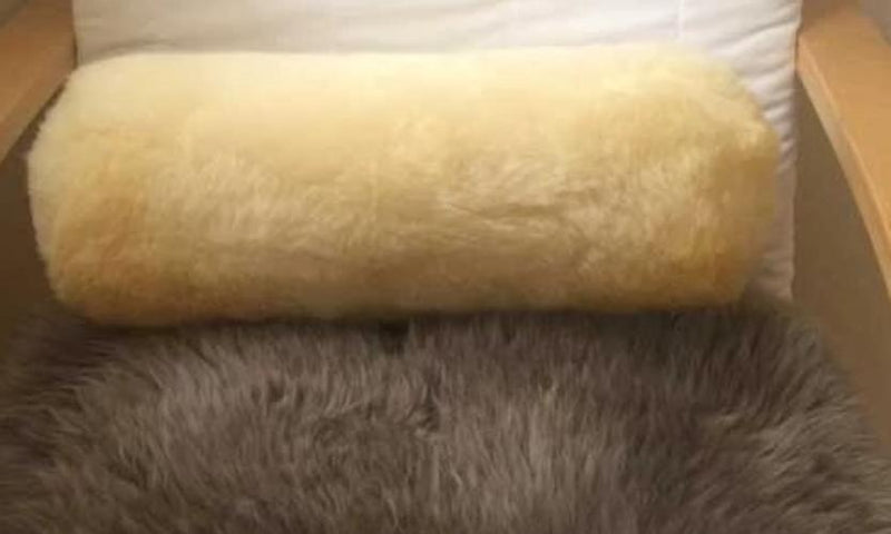 Medical Irish Sheepskin Lumbar & Neck Pillow