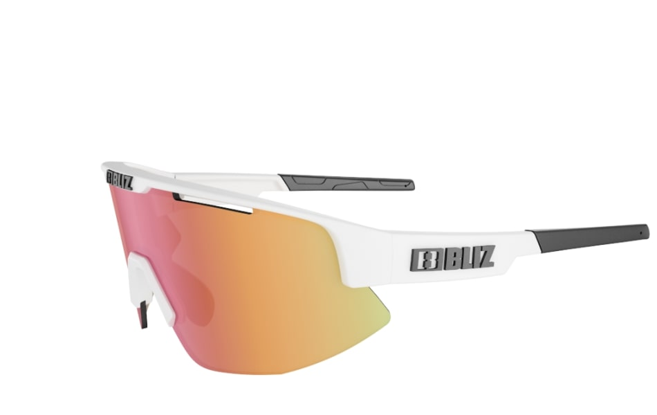 Bliz Matrix Sunglasses Matte White Frame