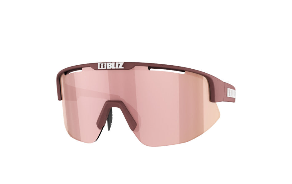 Bliz Matrix Small Sunglasses Matte Burgundy Frame