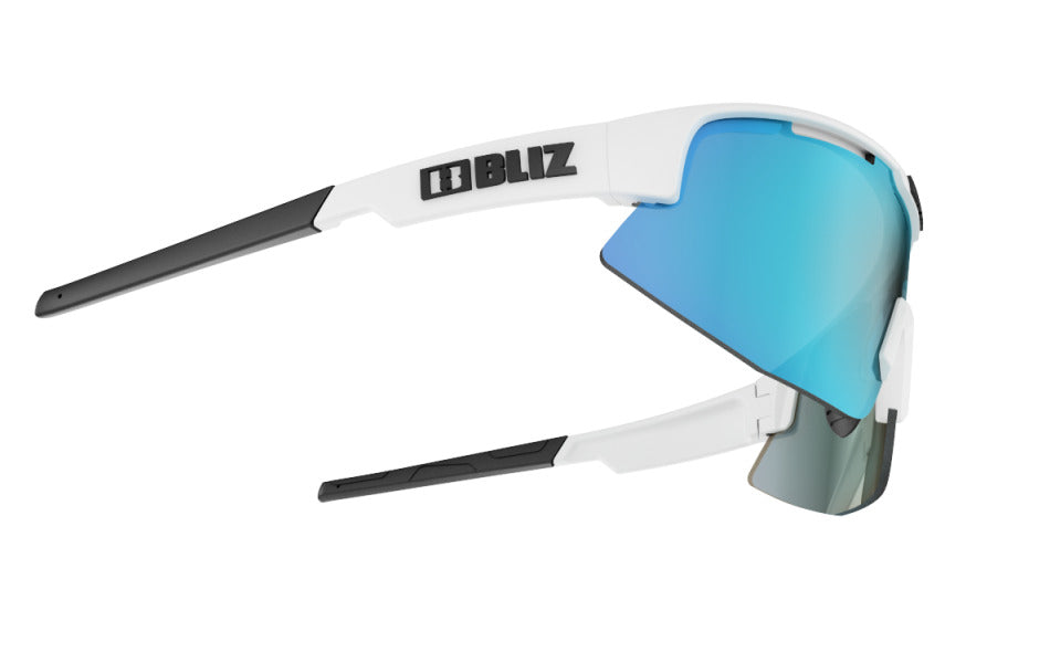 Bliz Matrix Small Sunglasses Matte White Frame