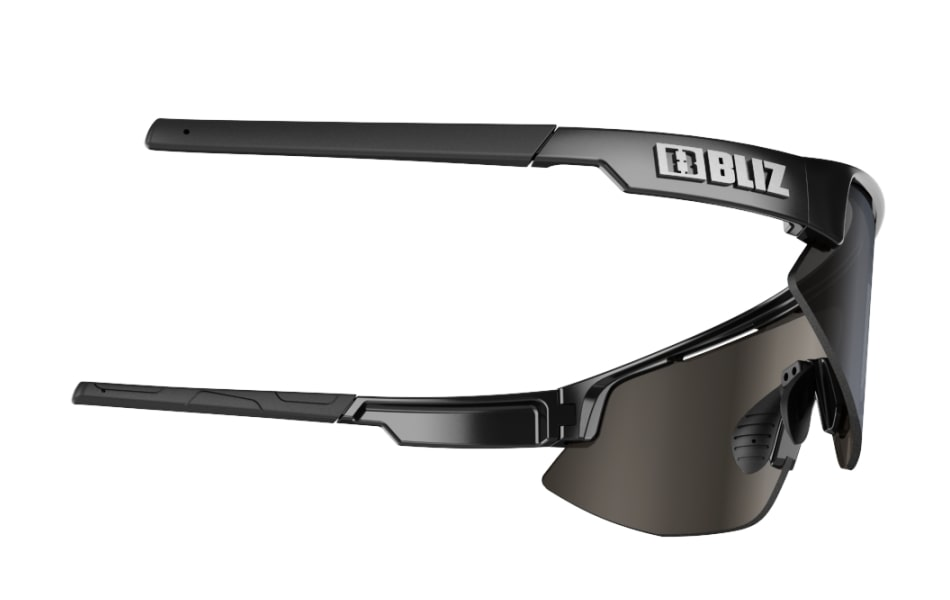 Bliz Matrix Sunglasses Shiny Black Frame