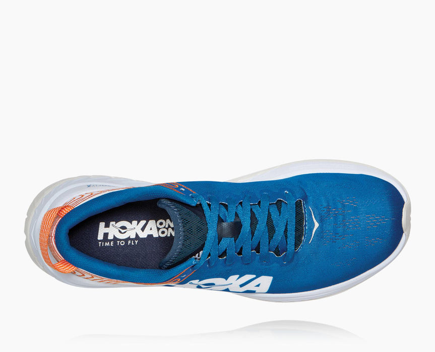 Hoka One One Men's Carbon X - Imperial Blue/White
