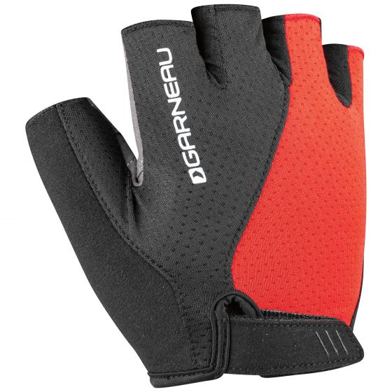Louis Garneau Men's Air Gel Ultra Cycling Gloves Black/Red