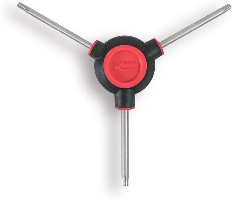 Feedback Sports Fixed 3-Way Torx Wrench T25/T28/T30