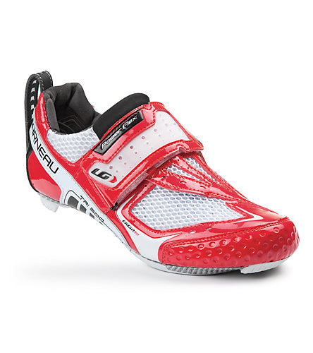 Louis Garneau Tri-300 Triathlon Shoes White/ Red