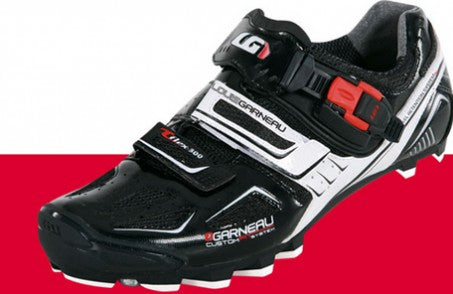 Louis Garneau T-Flex 300 Men's Mountain Bike Shoes - Black/Red/White