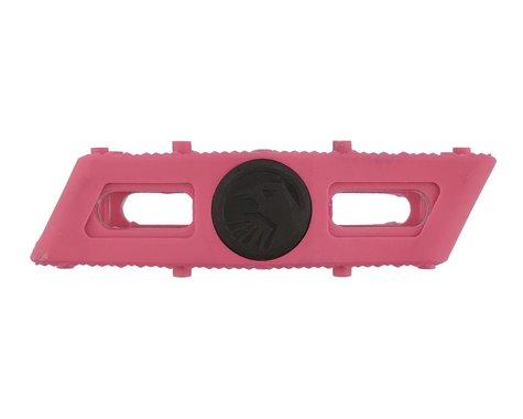 "Ravager Plastic Pedals, 9/16"", Pink"