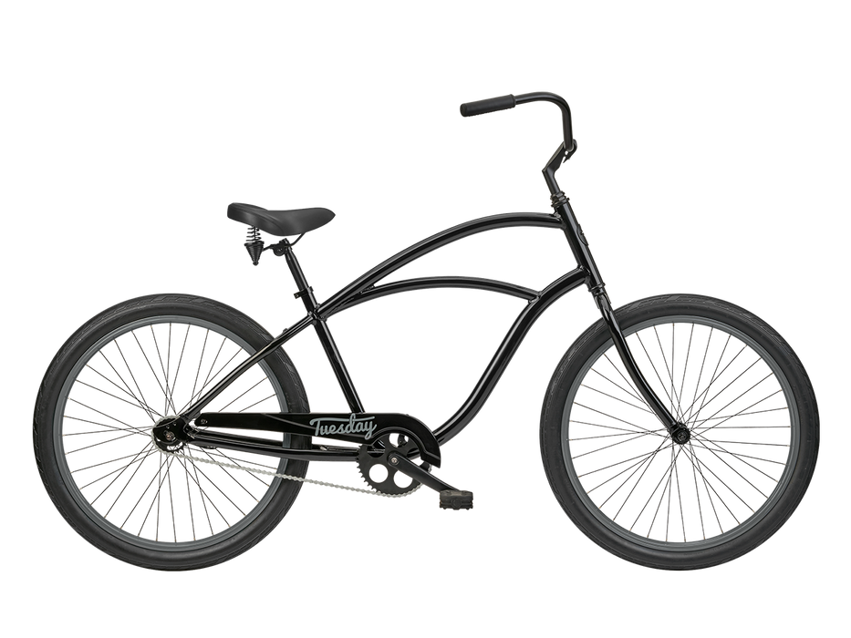 "Tuesday Cycles August 1 26"" Cruiser - Black 2020"