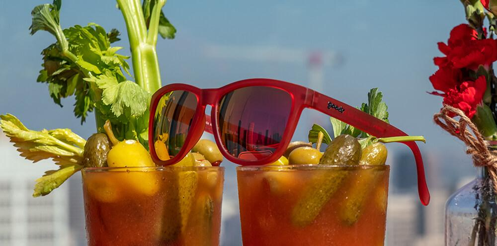 Goodr Sunglasses - Phoenix a Bloody Mary Bar