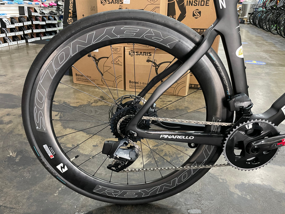 Pinarello Dogma F12 Disk Sram Force eTap AXS - Black White 2021