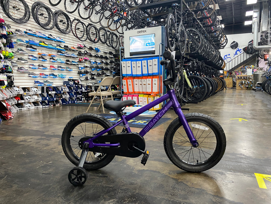 "Batch Kid's Bicycle 16"" - Purple 2021"