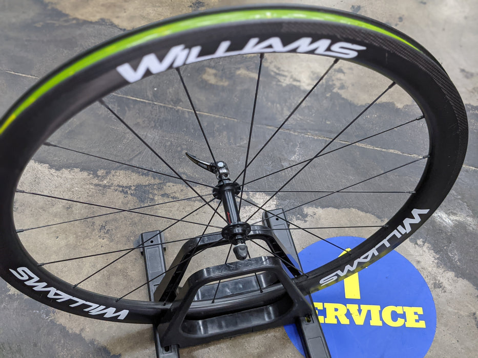 Williams Tubeless Ready Carbon Clincher Wheelset - Demo