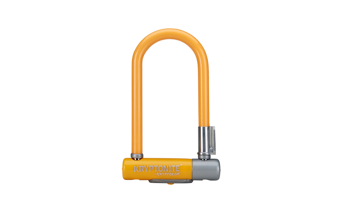 Kryptonite Kryptolok Mini-7 U-Lock - Light Orange