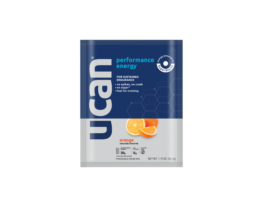 UCAN Perform Energy Packet Box of 12 - Orange