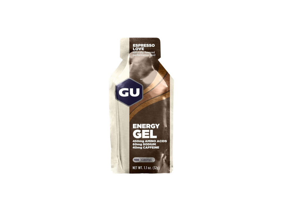 GU Energy Gel Box of 24 - Espresso Love