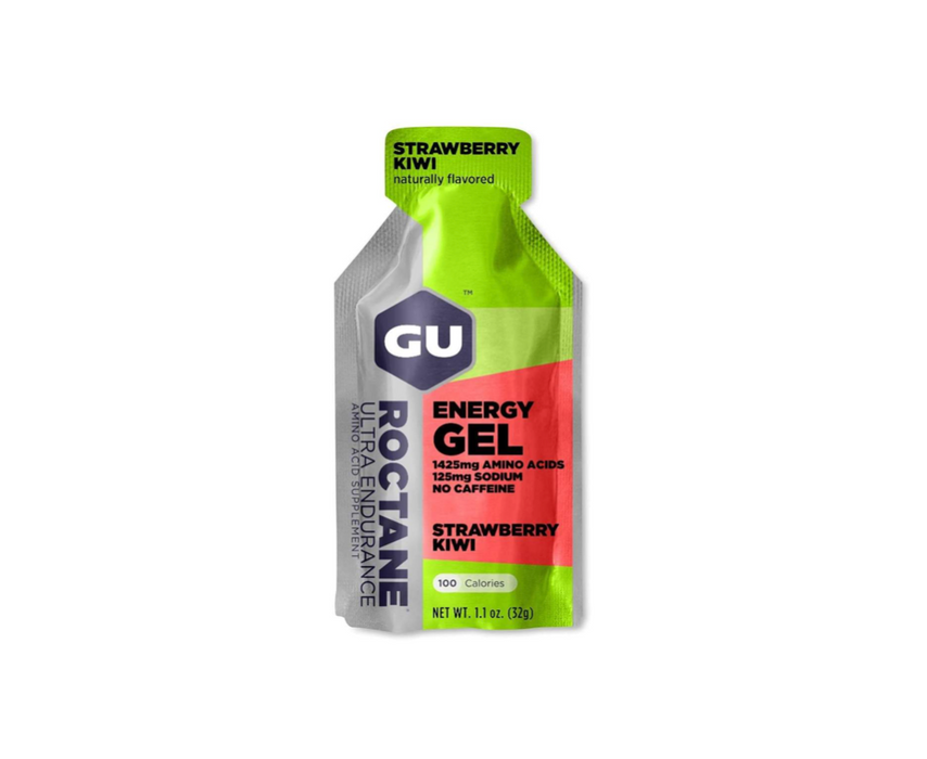 GU Energy Gel Box of 24 - Roctane Strawberry Kiwi