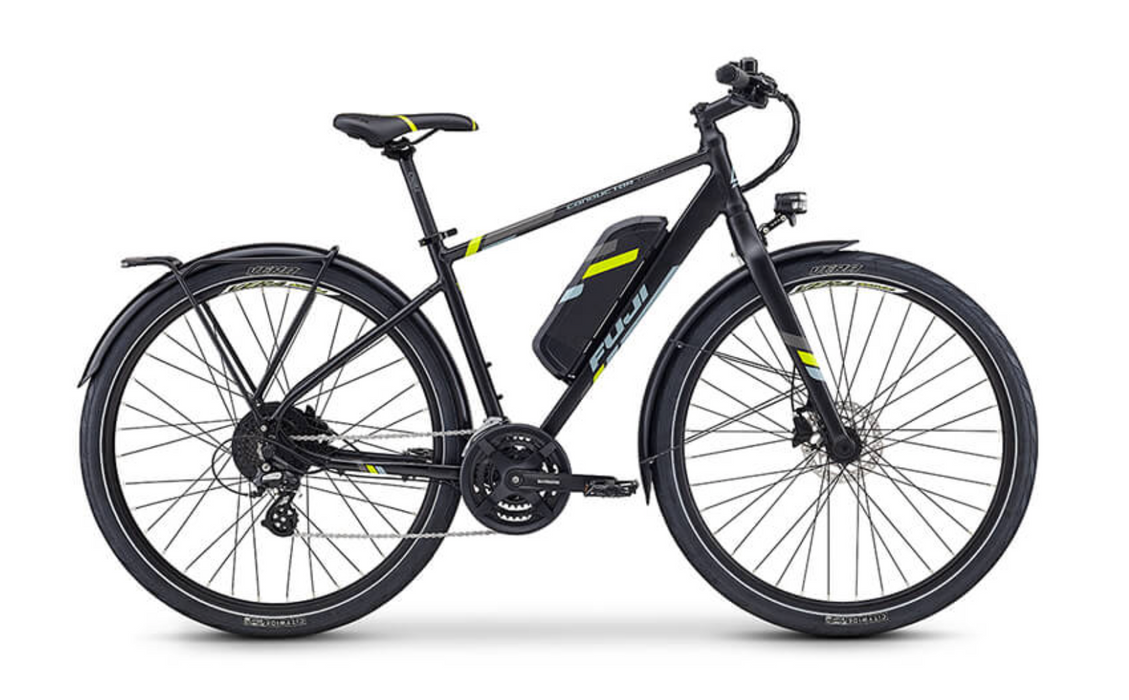 Fuji Conductor 2.1+ USA Version E-Bike - Satin Black 2021