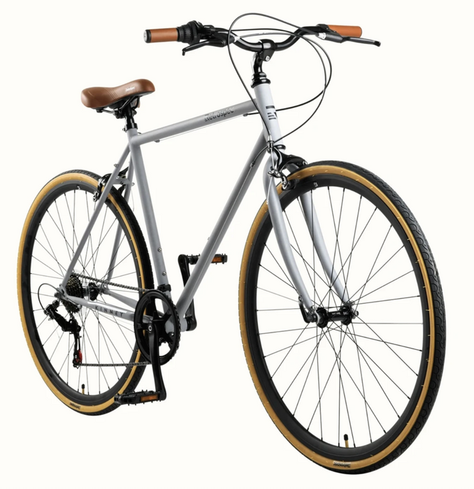 Retrospec Kinney City Bike 7-Speed - Matte Gunmetal 2021