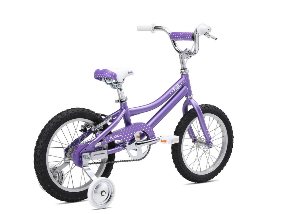 "Fuji Rookie ST 16"" Kids Bike - Violet 2021"