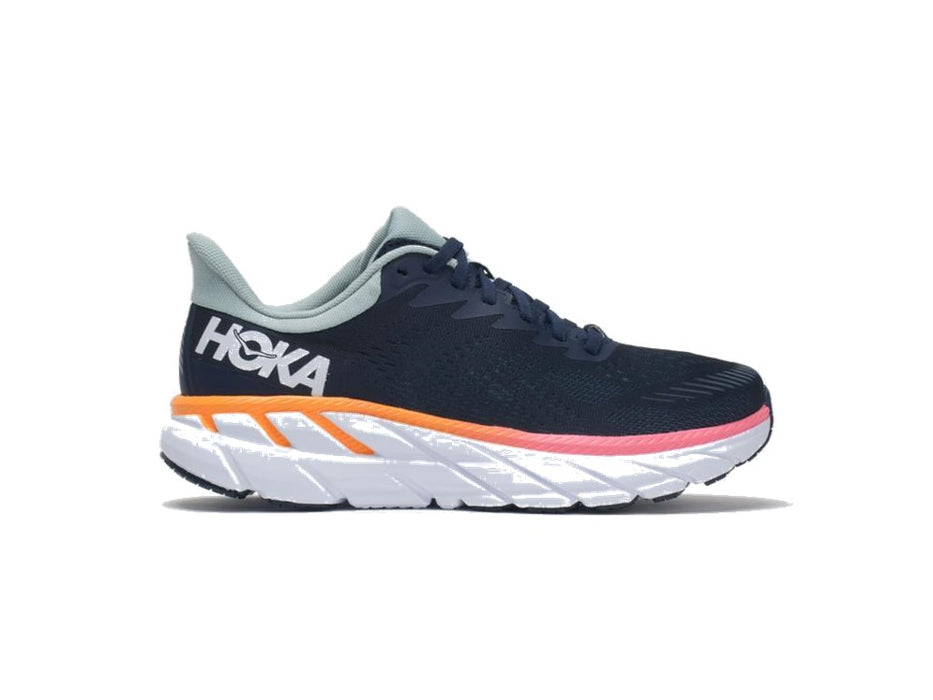 Hoka One One Men's Clifton 7 - Black/White