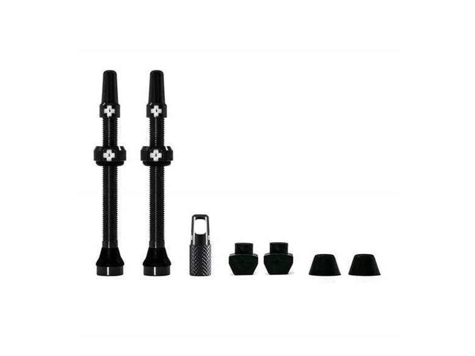 Muc Off Tubeless Presta Valves 60MM, Black