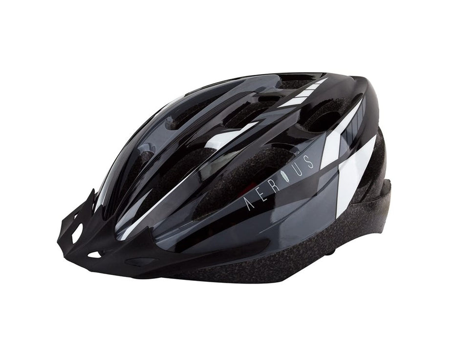 Aerius V19-Sport Cycling Helmet - Black/Grey